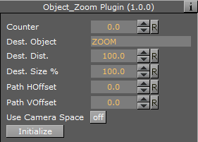 Object Zoom - Viz Artist and Engine