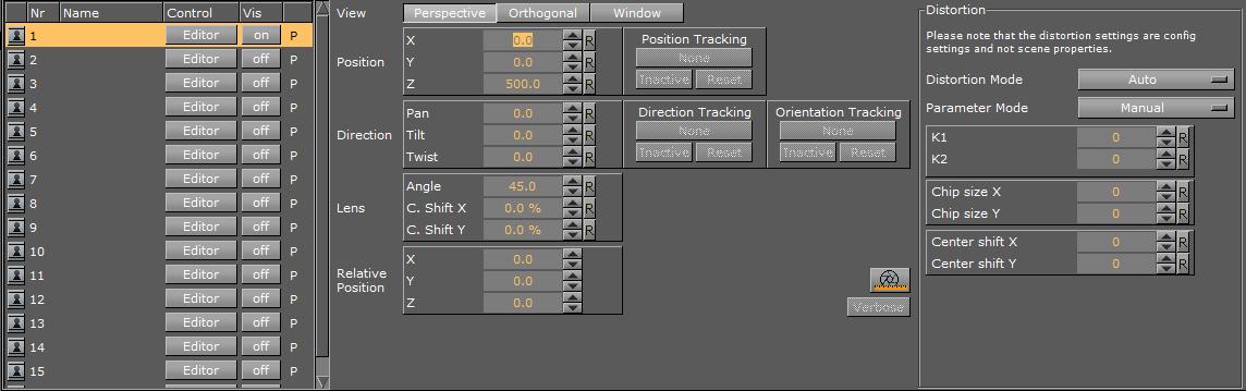 Advanced Lens Distortion - Viz Artist and Engine
