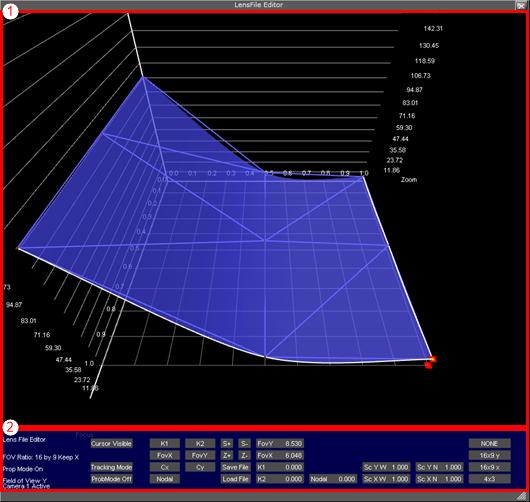 Lens File Editor - Viz Artist and Engine