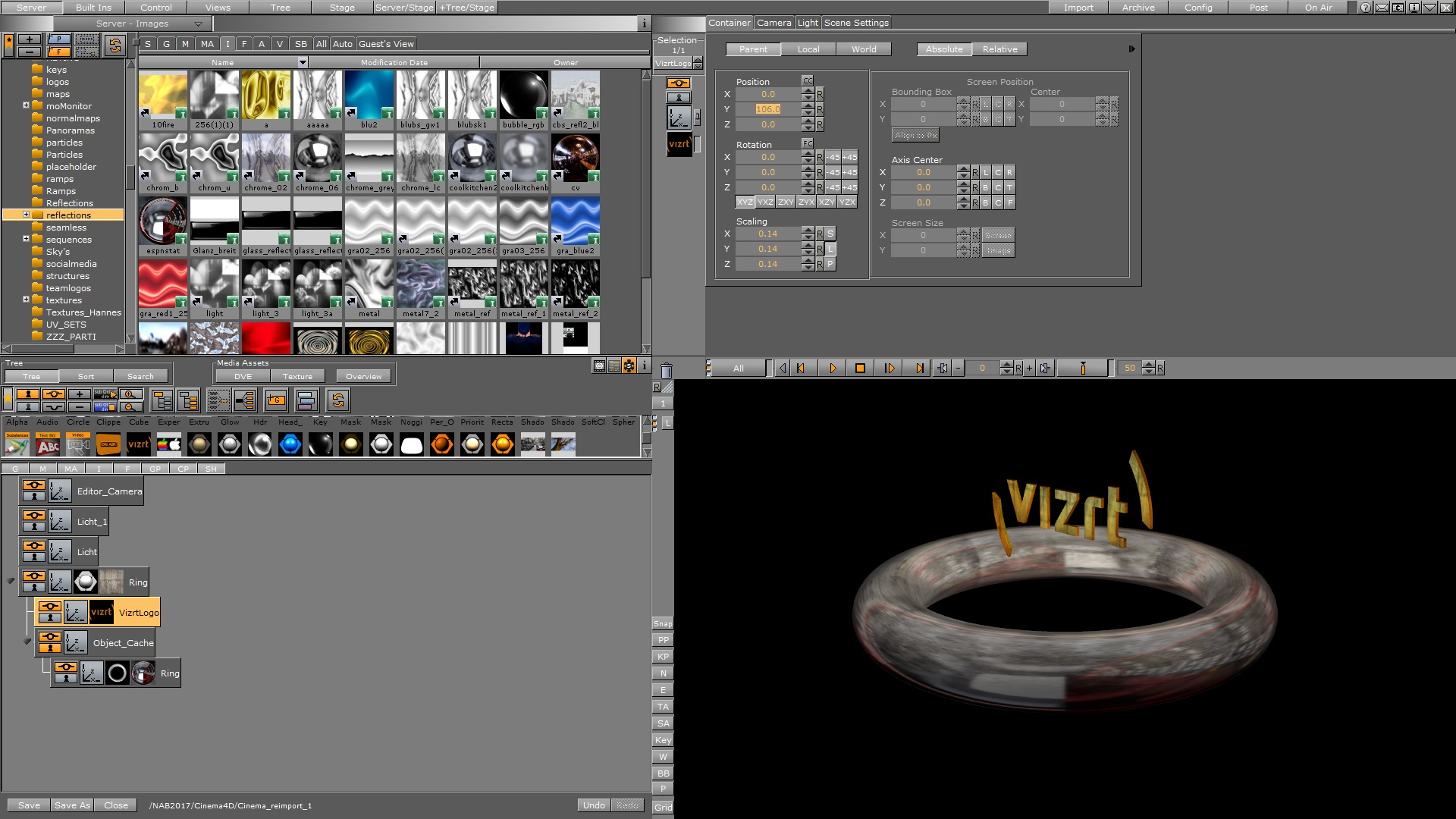 CINEMA 4D - Viz Artist and Engine