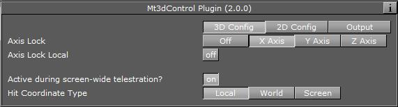 Mt3D Control Plugin - Viz Artist User's Guide - Vizrt