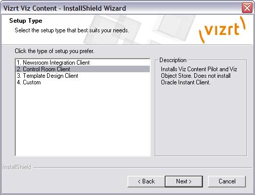 Viz Content Pilot Installation - Viz Content Pilot User's
