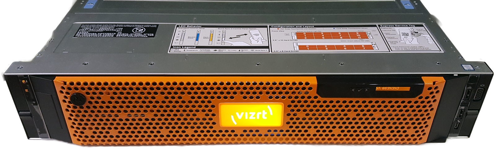 Dell R7920 - Viz Artist and Engine