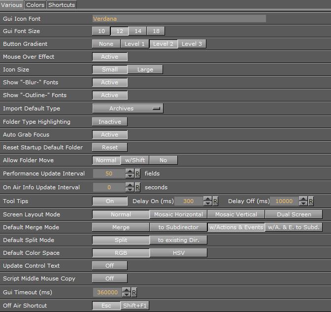 User Interface - Viz Artist and Engine