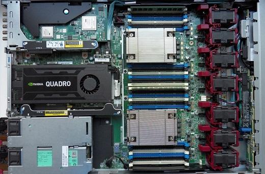 HP DL360 Gen9 - Viz Artist and Engine