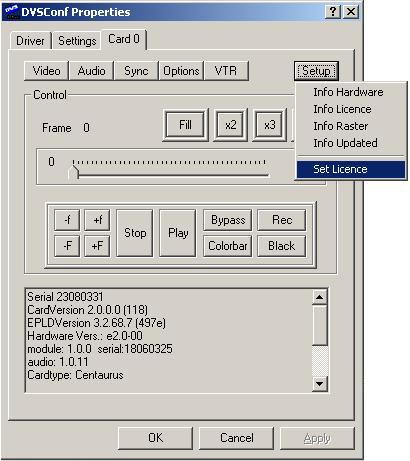 DVS Centaurus II - Viz Artist and Engine