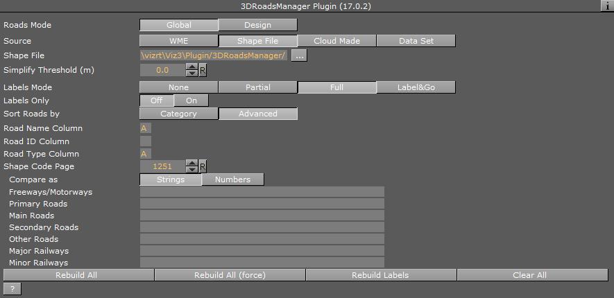 3D Roads Manager - PLUGINS