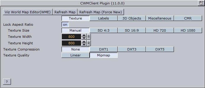 Plugin description viz world users guide vizrt documentation center figure 112 texture cwm client editor gumiabroncs Choice Image